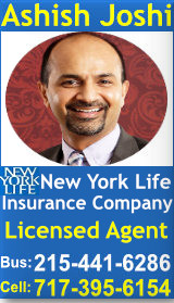 Ashish Joshi Philadelphia Indian Insurance Agent